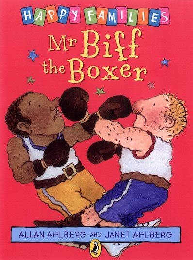 the boxer within books happy families mr biff the boxer scholastic club