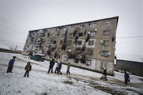 House Plans European by Romanian Gypsies Living In Condemned Ghetto Which Mayor