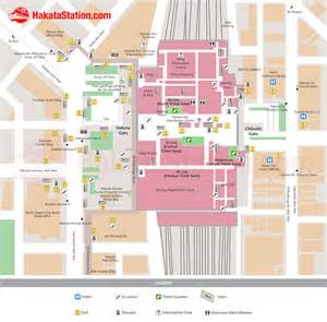 Gateway Floor Plan hakata station map finding your way hakata station