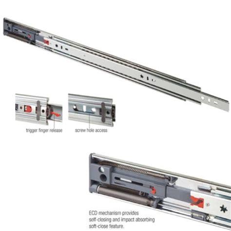 Heavy Duty Soft Drawer Slides by 24 Quot Heavy Duty Drawer Slide Soft Zinc Fr5210 Ecd