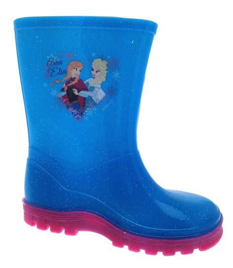 frozen boots disney frozen glitter wellington boots elsa