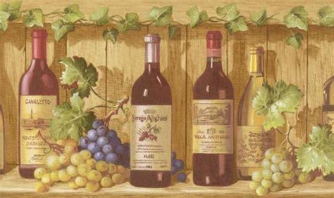 wine bottle wallpaper border gallery