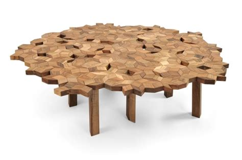 Manulution Handcrafted Furniture With An Unbreakable Umbra Coffee Table