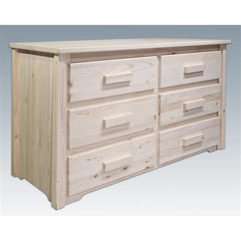 montana bedroom furniture collection montana woodworks 174 homestead collection 6 drawer dresser