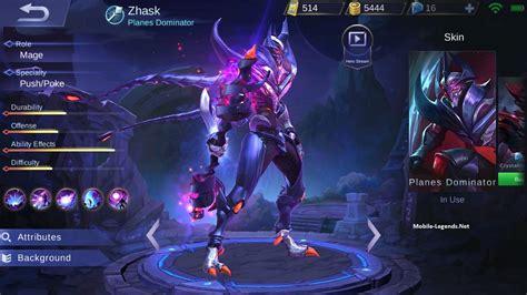 tutorial zhask mobile legend mobile legends zhask mobile legends