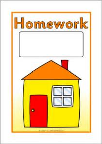 editable homework book covers sb4532 sparklebox