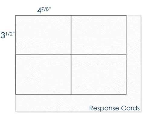 best photos of blank response card template rsvp