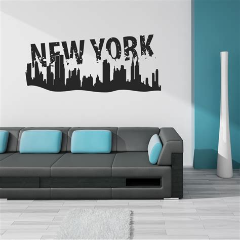 wall stickers new york wallstickers folies new york wall stickers