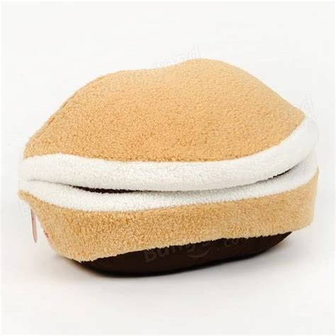 hamburger cat bed hamburger cat litter kitten nest detachable cat nest warm