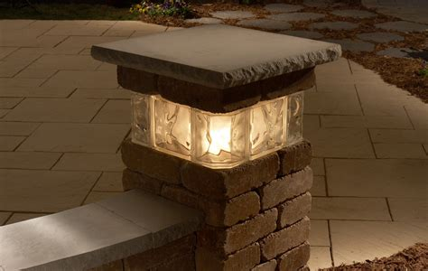Patio Pillar Lights Necessories Pillars Franklin