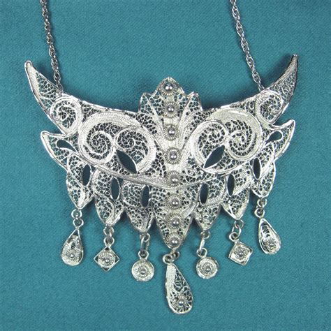 filigree jewelry how l c helped me recognize cannetille jewelry