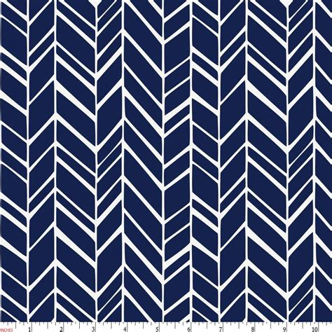 Navy Blue Pattern Material | windsor navy herringbone fabric by the yard navy fabric