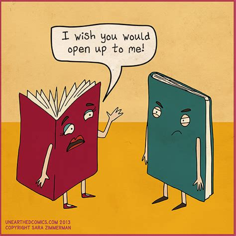 relationships r us books relationship humor and pun comic about opening up