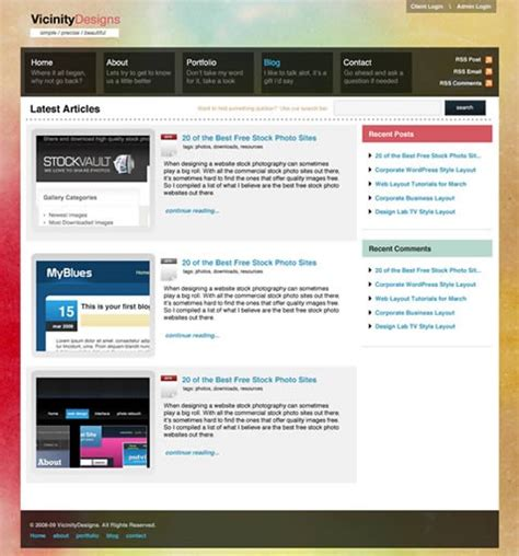 create layout for wordpress 26 complete wordpress blog design tutorials pro blog design