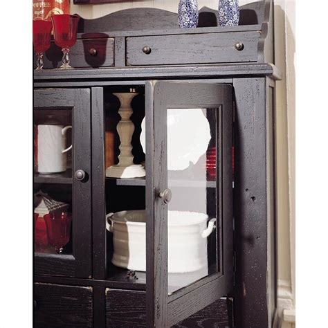 broyhill attic heirlooms dining cabinet in antique black
