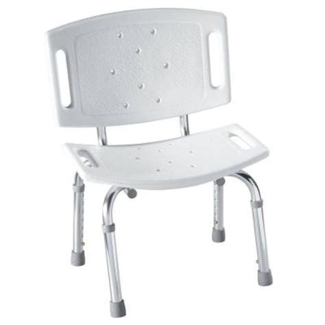 moen adjustable shower chair in white dn7030 the home depot