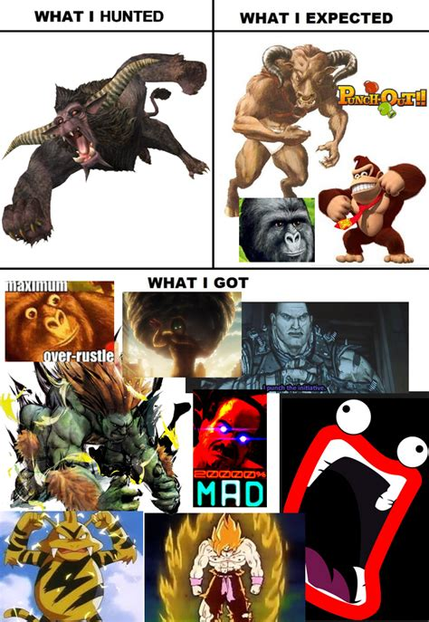 Monster Hunter Memes - rajang monster hunter know your meme