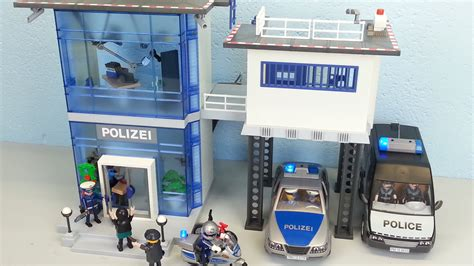 playmobil scheune bauanleitung playmobil polizeistation 5176 auspacken seratus1 alarm