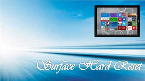 resetting windows surface pro microsoft hard reset on surface windows 8 8 1 pro