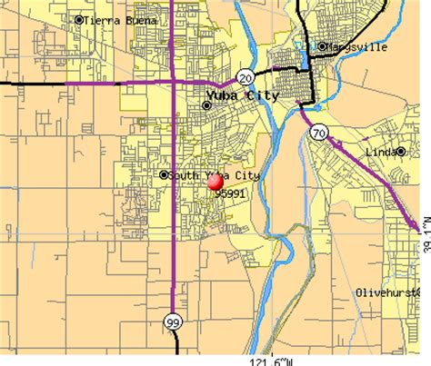 zip code map yucaipa ca yuba city california map