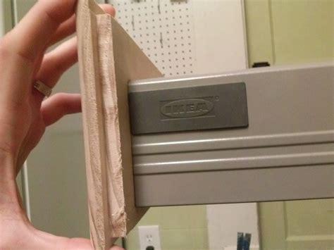 how to make custom drawer fronts for rationell drawers