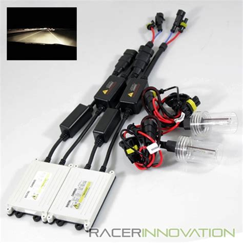 Hid Conversion Kit Hb4 9006 Alpha 4300k 9006 hb4 4300k stock white xenon can ballast hid low