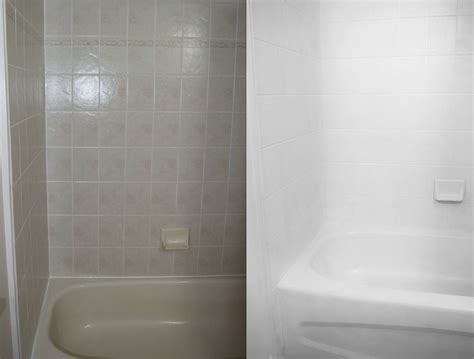 Paint For Bathroom Tile How To Paint A Tub With Rust Oleum Tub And Tile Refinishing Kit White