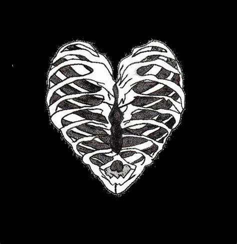 heart tattoos rib cage rib cage heart xray technologists valentine x ray