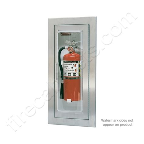 semi recessed fire extinguisher cabinet larsen s semi recessed 5 16 fire extinguisher cabinet mp5