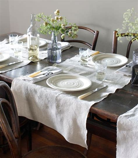 Dining Room Table Runner Table Setting Kitchen Dining