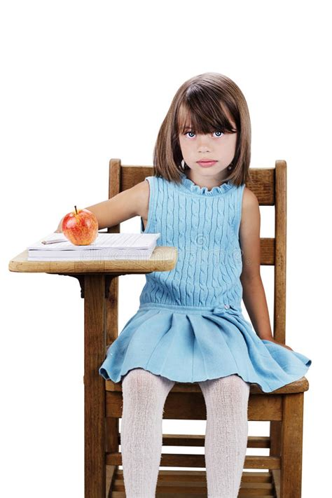 Kid At Desk Child Sitting At School Desk Royalty Free Stock Images Image 25152679