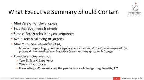 what should be in the summary of a resume asg writing executive summary suggestion april 2015