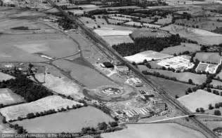 gatwick air photo of gatwick airport from the air 1953 francis frith