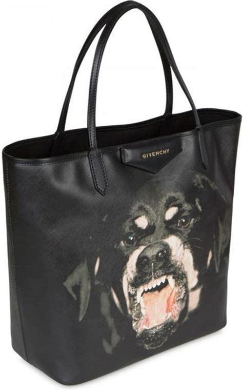 givenchy rottweiler tote givenchy antigona rottweiler printed tote in black