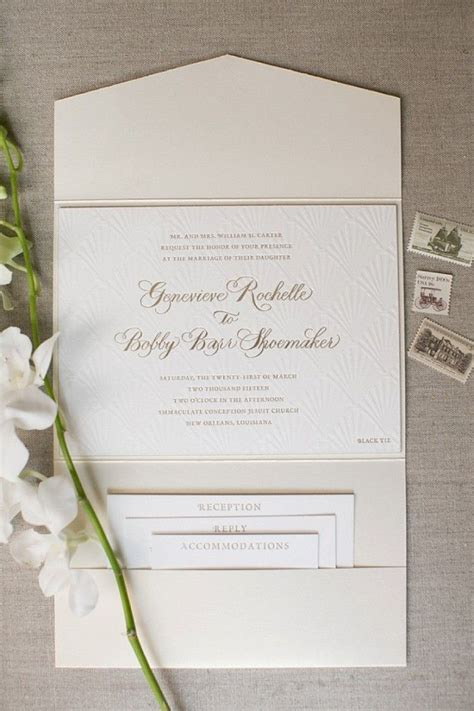 Wedding Invitations And Stationery by Genny Barr New Orleans Wedding Invitation Suite