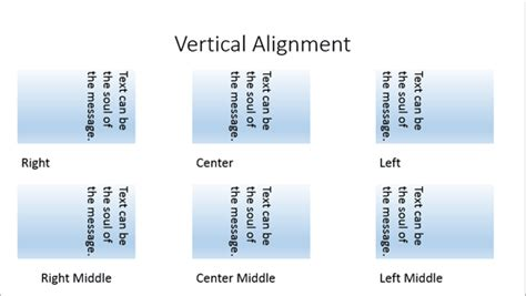 layout manager vertical alignment text layout options in powerpoint 2013 windows