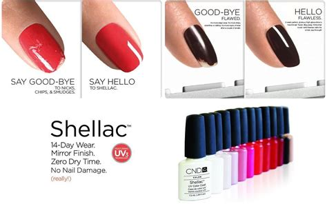 popular shellac nail colors shellac gel polish manicure