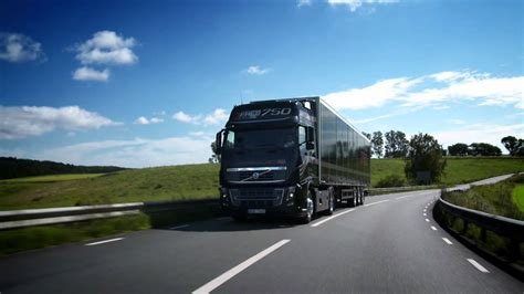 volvo trucks volvo fh  running footage youtube