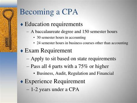 Cpa Requirements With Mba by Ppt The Of Toledo College Of Business And