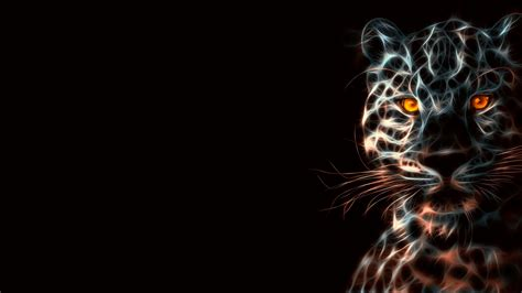 imagenes wallpapers hd 3d animales leopard animal wild art 3d hd wallpaper stylishhdwallpapers
