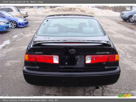 2000 Toyota Camry Le V6 2000 Toyota Camry Le V6 In Black Photo No 24928552