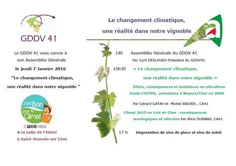 chambre agriculture du loiret le changement climatique r 233 alit 233 dans le vignoble mon viti