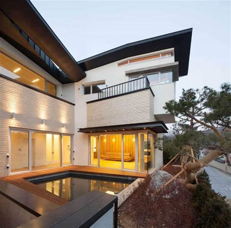 modern home design korea modern naegok v house in seoul korea
