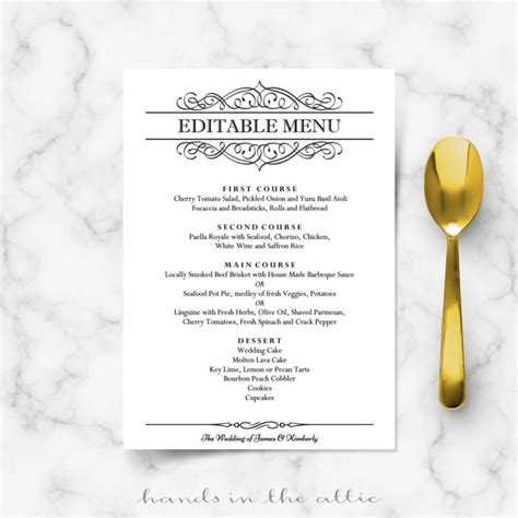 86 wedding brunch menu you can also get creative
