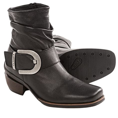 wolky leather ankle boots for save 36