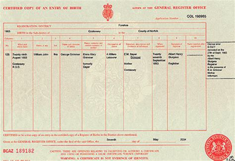 full birth certificate for job birth certificates and notices eastern daily press