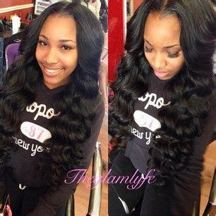 sew in weave with part in the middle middle part sew in weave sewins vixens ponytails