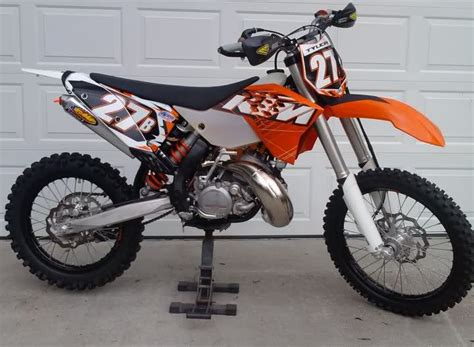 2010 Ktm 200xcw Related Keywords Suggestions For 2011 Ktm 200 Xc W