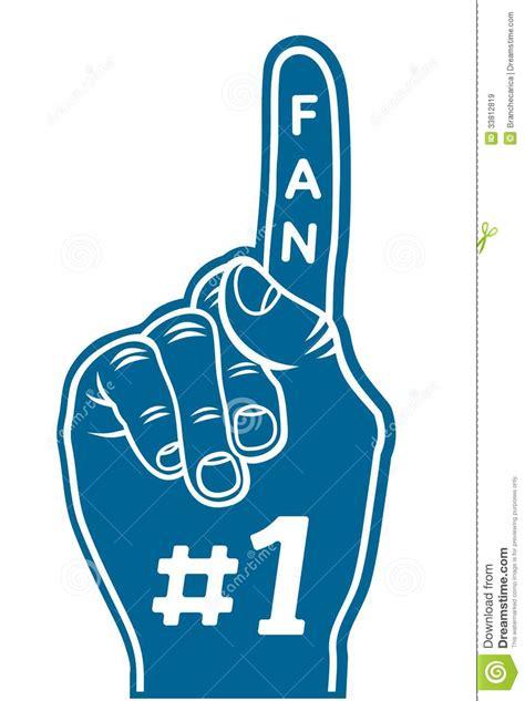 1 fan foam finger finger vector clipart clipart suggest