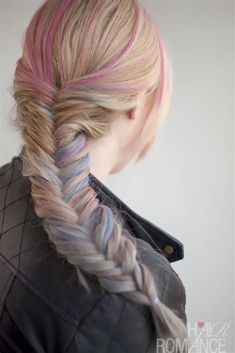 how to apply to braids how to use hair chalk hair